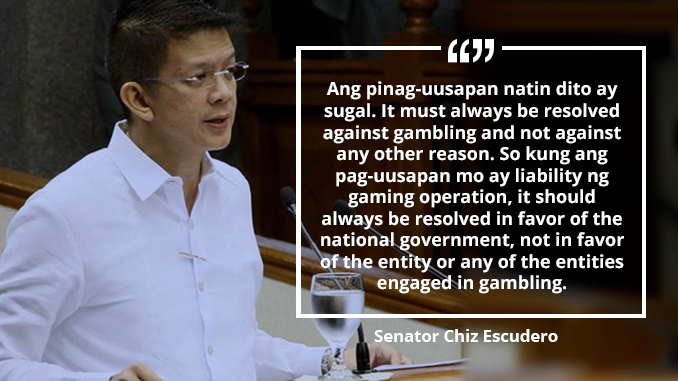 Government Losing Revenues From Offshore Online Games – ESCUDERO