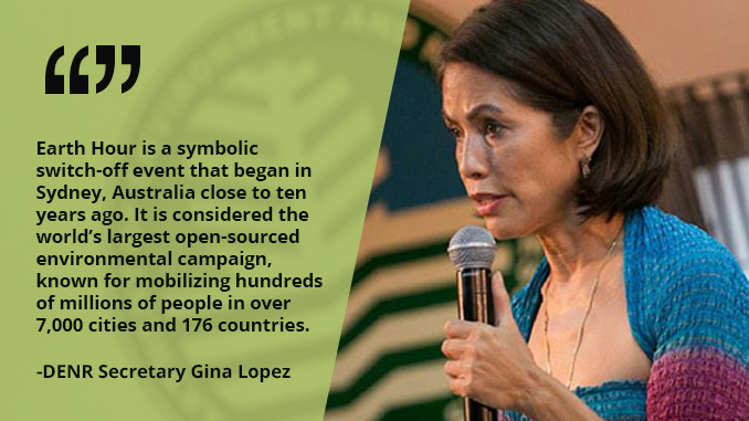 Earth Hour Allows Every Man, Woman and Child to Do Something to Protect the Environment – LOPEZ