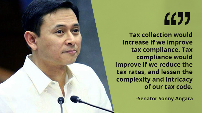 BIR Should Help Pinoys pay Taxes Correctly – ANGARA
