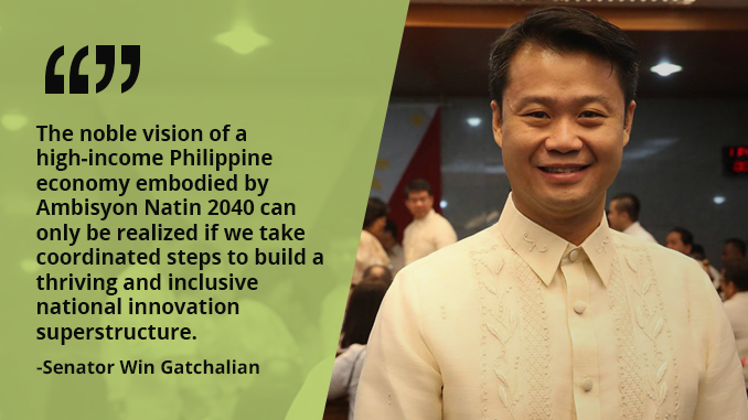 Our Economic Potential Will Depend Largely Upon Our Ability to Develop and Maintain an Innovative, Strategic, and Adaptive Economy – GATCHALIAN