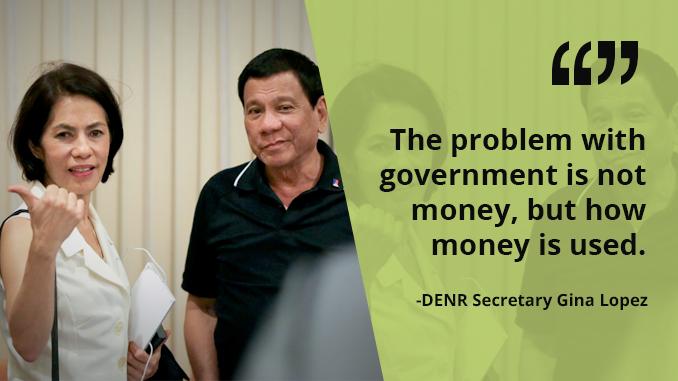 Zero Tolerance for Corruption in DENR Under My Watch – LOPEZ
