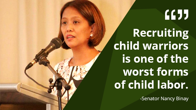 Use of Children in Armed Combat Inhumane and Unacceptable – BINAY