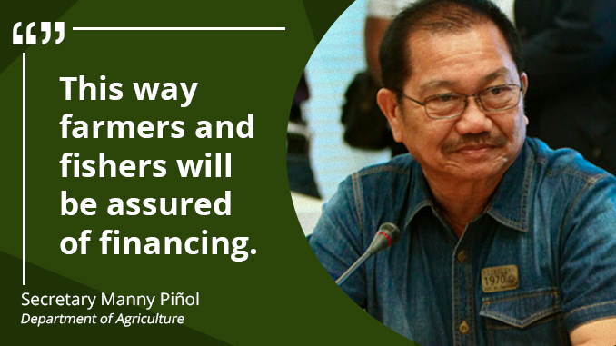 Agri-Fishery Credit Law in the Drawing Board – PIÑOL