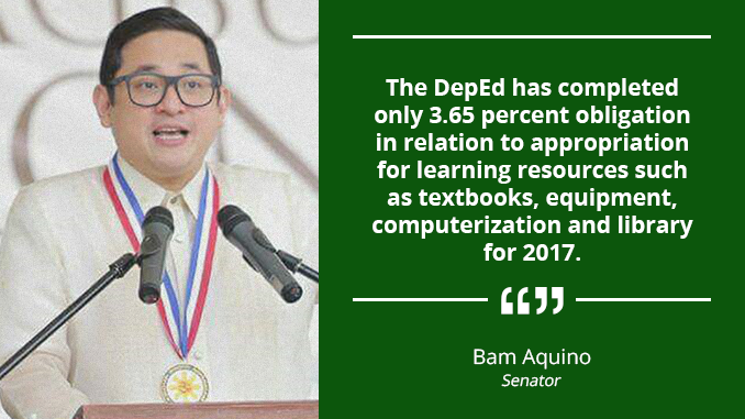 Speed up Delivery of Learning Materials to Millions of Students – AQUINO