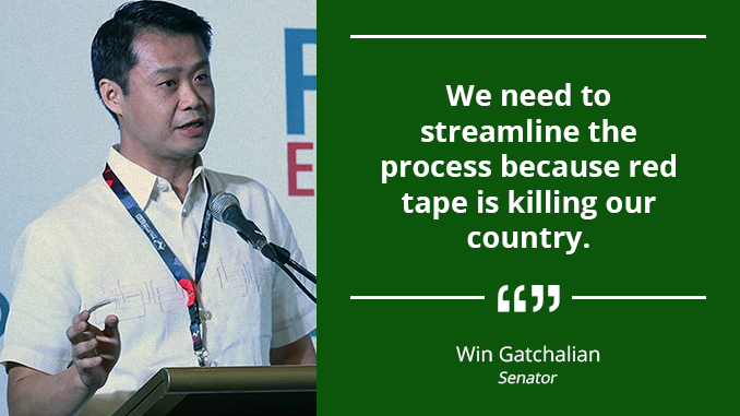 Expedite the Whole Process of Permitting for Power Generation Projects – GATCHALIAN