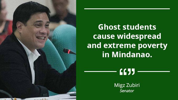 Ghost Students Exposed – ZUBIRI