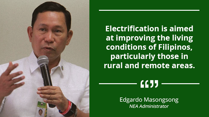 Rural Electrification Must Continue to Spur Growth – MASONGSONG