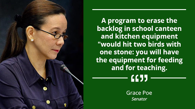 Kitchen Equipment is a Basic Education Facility – POE