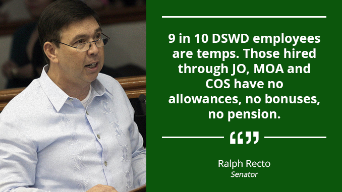 Create Pathway for Regularization of Temporary Workers – RECTO