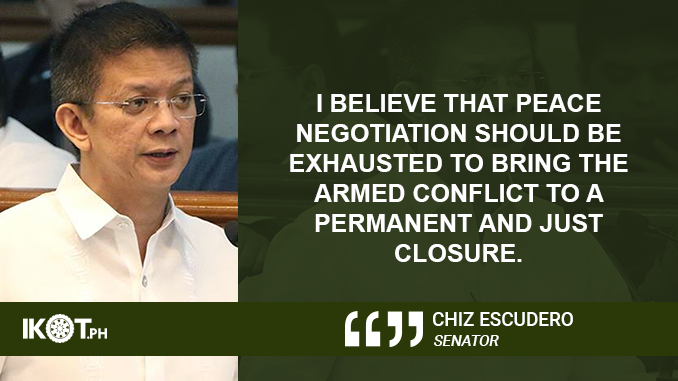 Strictly Observe Provisions of the Human Security Act – ESCUDERO