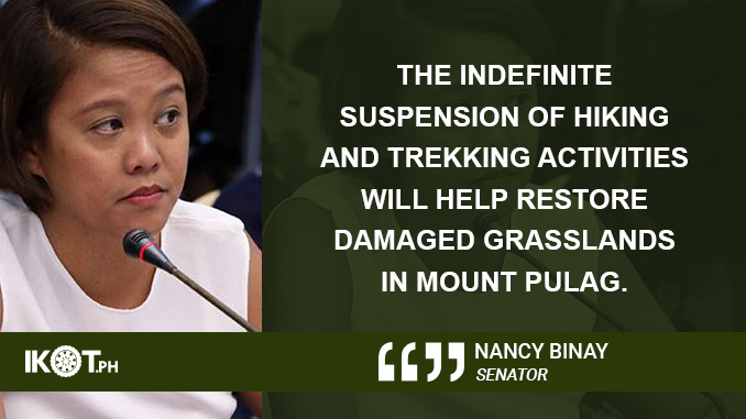 """LET MOUNT PULAG """"MOVE ON AND HEAL"""" – BINAY"""
