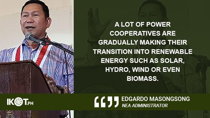 EFFECT OF COAL TAX HIKE ON EC POWER RATES 'MINIMAL' – MASONGSONG