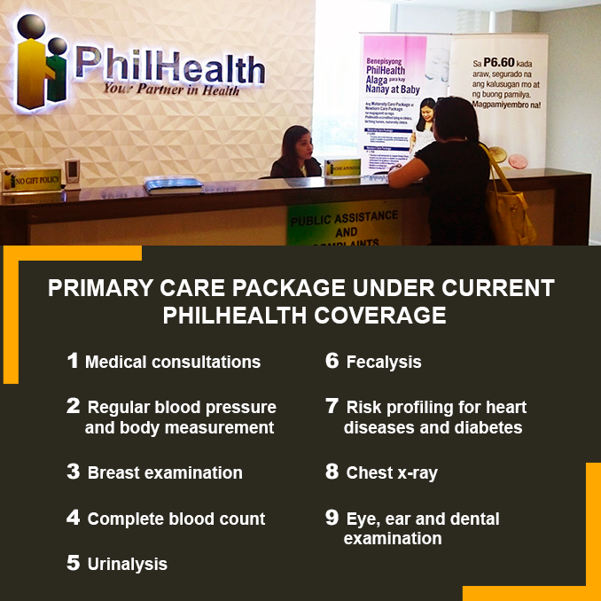 PHILHEALTH SHOULD COVER CHECK-UPS AND LAB TESTS AS WELL