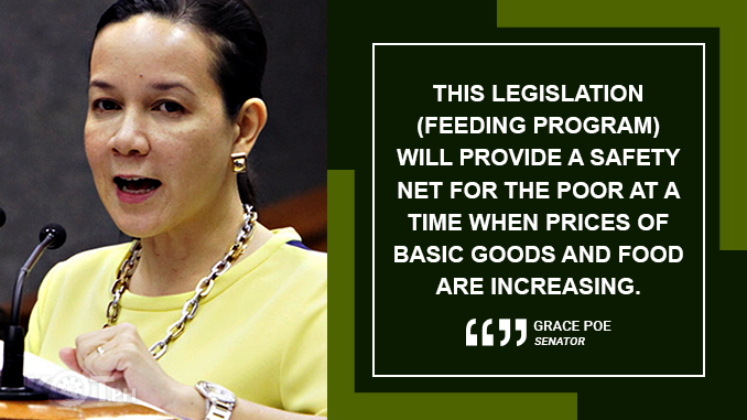 FEEDING PROGRAM BILL GETS SENATE APPROVAL – POE