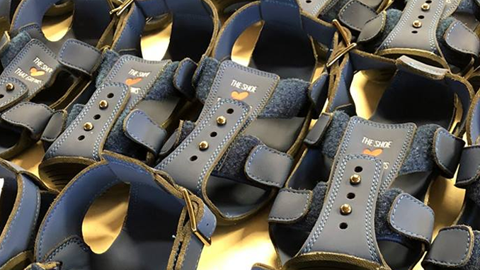 FLEXIBLE SHOES FOR UNDERPRIVILEGED YOUTH