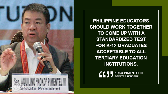 LOWER COSTLY COLLEGE ENTRANCE EXAMINATION FEES – PIMENTEL