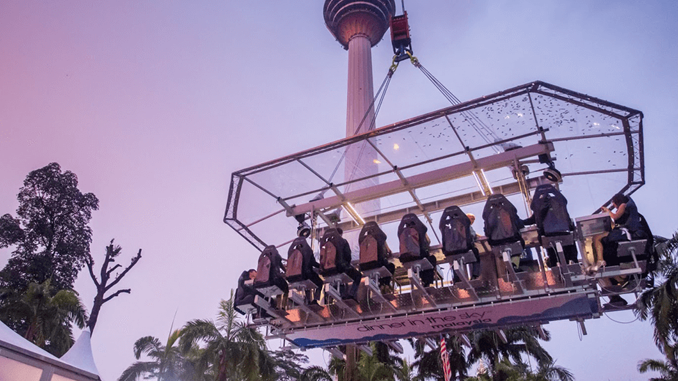 A DINING EXPERIENCE FOR THRILL-SEEKERS