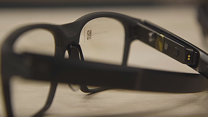 INTEL GETS ON THE SMART GLASSES TRADE