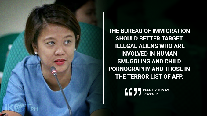 GO AFTER MEMBERS OF GLOBAL CRIME SYNDICATES INSTEAD OF MISSIONARIES – BINAY
