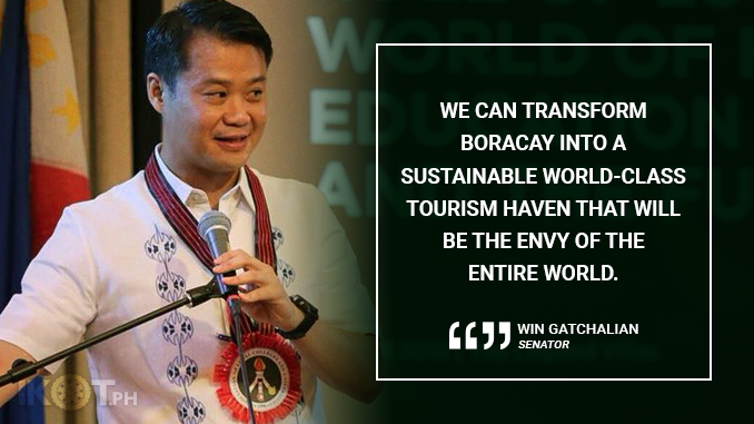 SPECIAL GOVERNMENT BODY TO OVERSEE BORACAY REHAB – GATCHALIAN