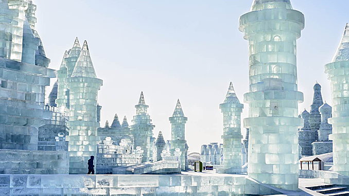 HARBIN CITY: A CHINESE WINTERSCAPE