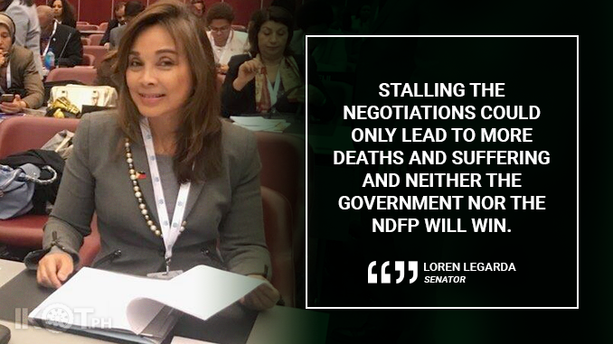 PEACE TALKS RESUMPTION IS A STEP TOWARDS BRIGHTER FUTURE FOR GENERATIONS – LEGARDA