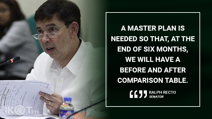 PERFORMANCE TARGETS, SOLID OUTPUTS MUST BE ATTACHED TO THE FORCED BORACAY REHAB – RECTO