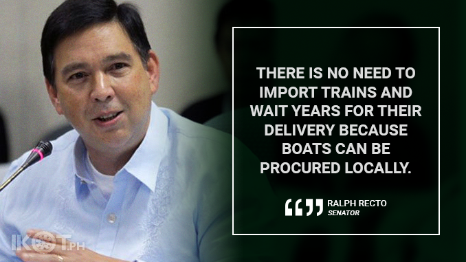 MANILA RIVER TRANSPORT TO BE REVIVED – RECTO