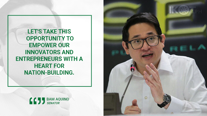 SENATE APPROVES INNOVATIVE STARTUP ACT – AQUINO