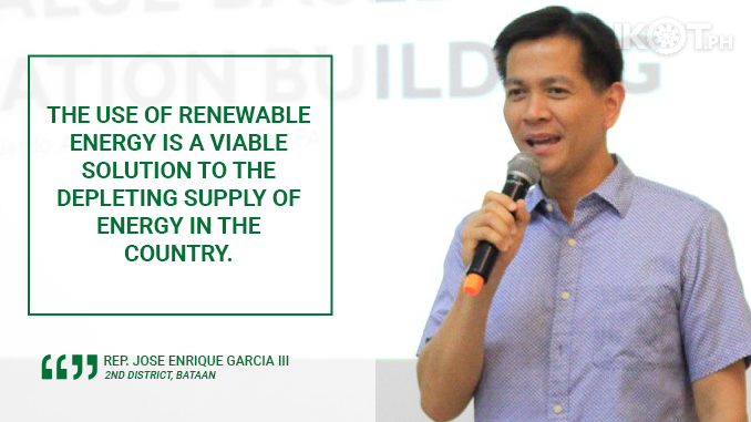 USE SOLAR POWER, GET INCENTIVES – GARCIA