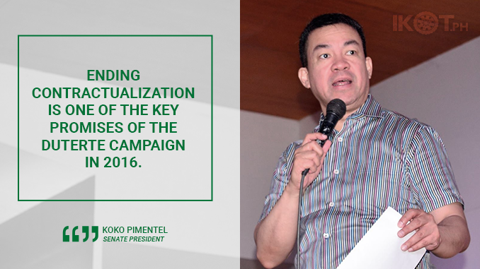 ENDING ENDO TO EMPOWER WORKERS – PIMENTEL