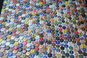 A CLEVER WAY TO UPCYCLE BEER BOTTLE CAPS