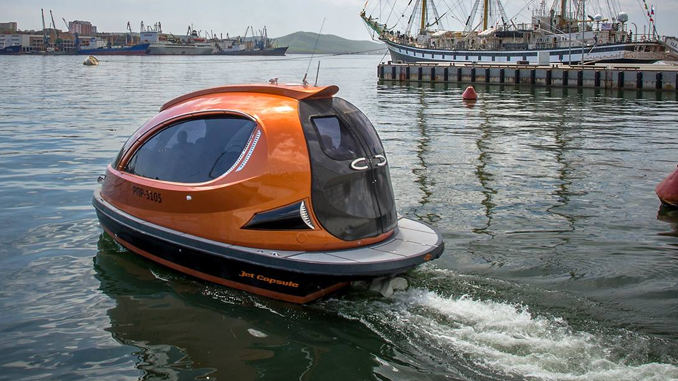 JET CAPSULE: CONQUER THE OCEAN IN STYLE