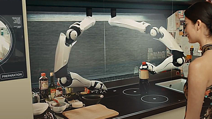 ROBOT CHEF IN THE KITCHEN