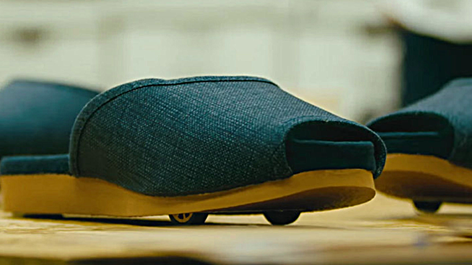 SELF-DRIVING SLIPPERS
