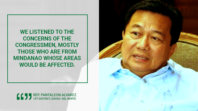HOUSE APPROVES PROPOSED BANGSAMORO BASIC LAW – ALVAREZ