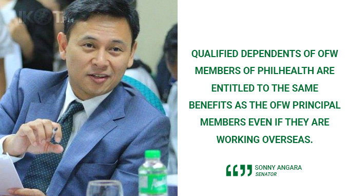 STRENGTHEN PROGRAMS AND SERVICES FOR OFW FAMILIES – ANGARA