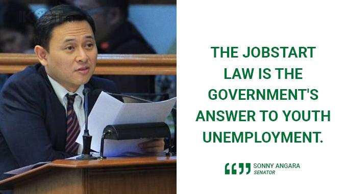 INTENSIFY GOVERNMENT PROGRAM TO GIVE JOBS TO TAMBAYS – ANGARA