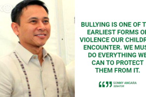 SCHOOLS SHOULD IMPLEMENT ANTI-BULLYING LAW – ANGARA