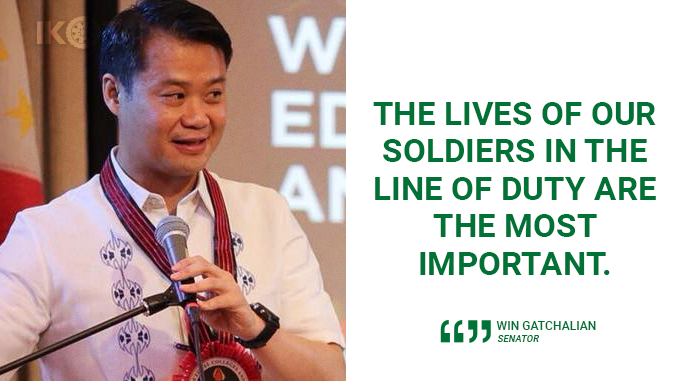 PHILIPPINES SHOULD MANUFACTURE OWN WEAPONS – GATCHALIAN