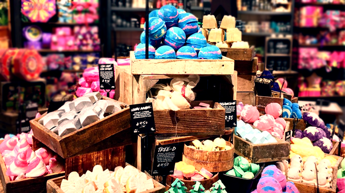 GOING NAKED WITH LUSH