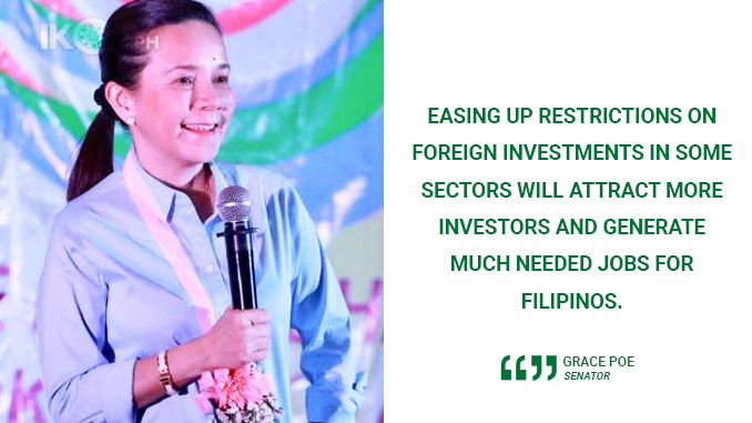 CREATE JOBS BY ALLOWING FOREIGN INVESTMENTS – POE