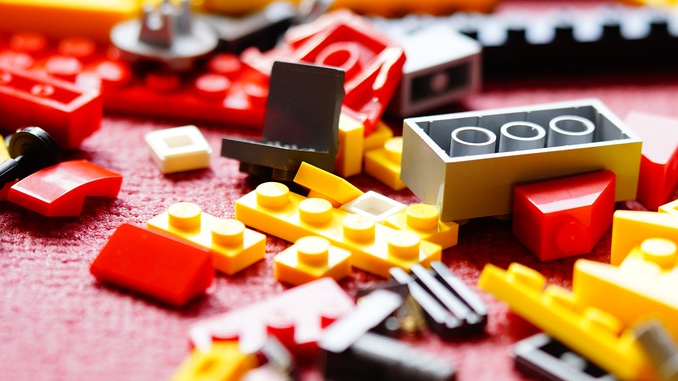 INSIDE THE LEGO FACTORY