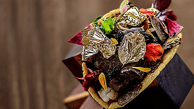 THE WORLD'S MOST EXPENSIVE TACO