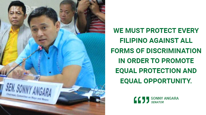 ELIMINATE ALL FORMS OF DISCRIMINATION – ANGARA