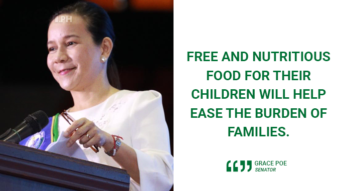 WITH SIGNING OF NATIONAL FEEDING PROGRAM, NO CHILD SHOULD GO HUNGRY AGAIN – POE