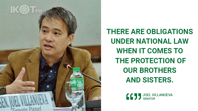 INCLUDE INDIGENOUS PEOPLES' RIGHTS IN BBL – VILLANUEVA