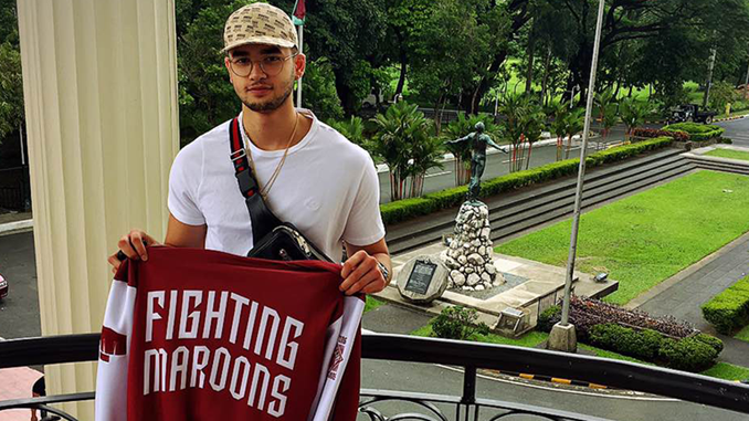 Kobe Paras is newest UP Maroon