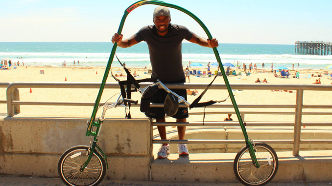 THE PEDAL-LESS BICYCLE