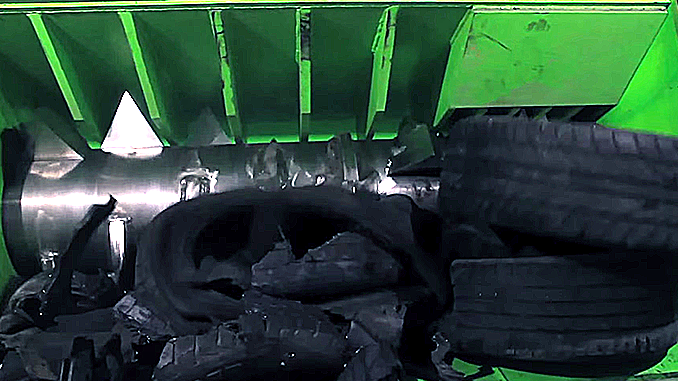 REUSING USED RUBBER TIRES